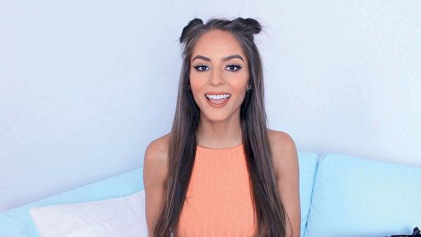 Česká beauty youtuberka Týnuš Třešničková
