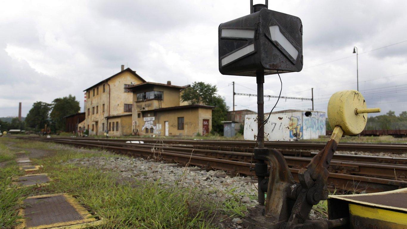 Ilustrační foto - Vlakové nádraží Praha-Bubny.