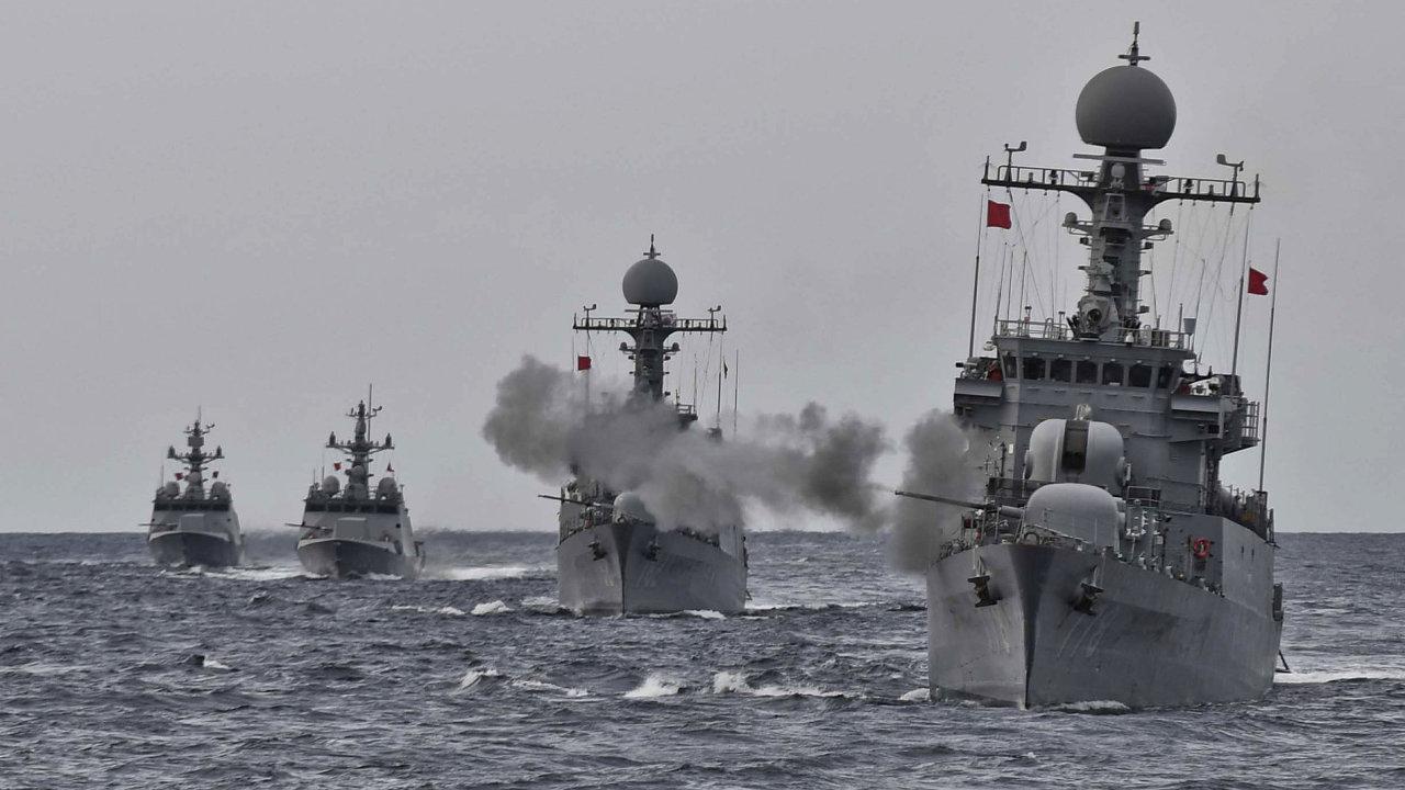 Jihokorejské námořnictvo uspořádalo cvičení v reakci na test KLDR.