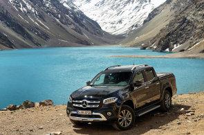 Mercedes-Benz postavil pick-up pro radost. Hor se ale nebojí, ukázal test v chilských Andách