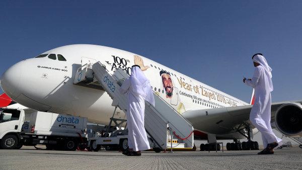 Německý fond Dr. Peters Group rozprodá dva obří Airbusy po částech. - Ilustrační foto