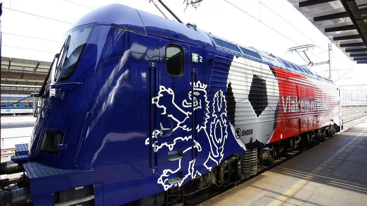 Nejrychlejší česká lokomotiva 380.011 od společnosti Škoda Transportation