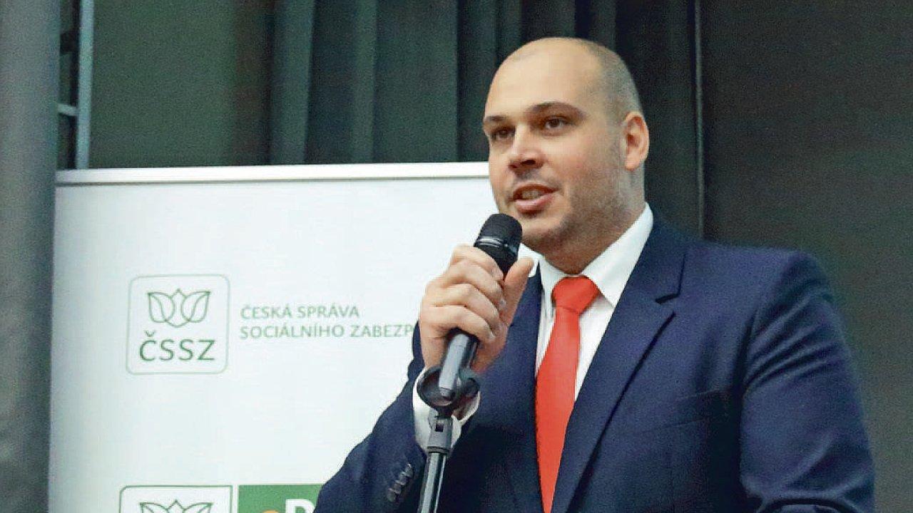 František Boháček, ředitel Pražské správy sociálního zabezpečení