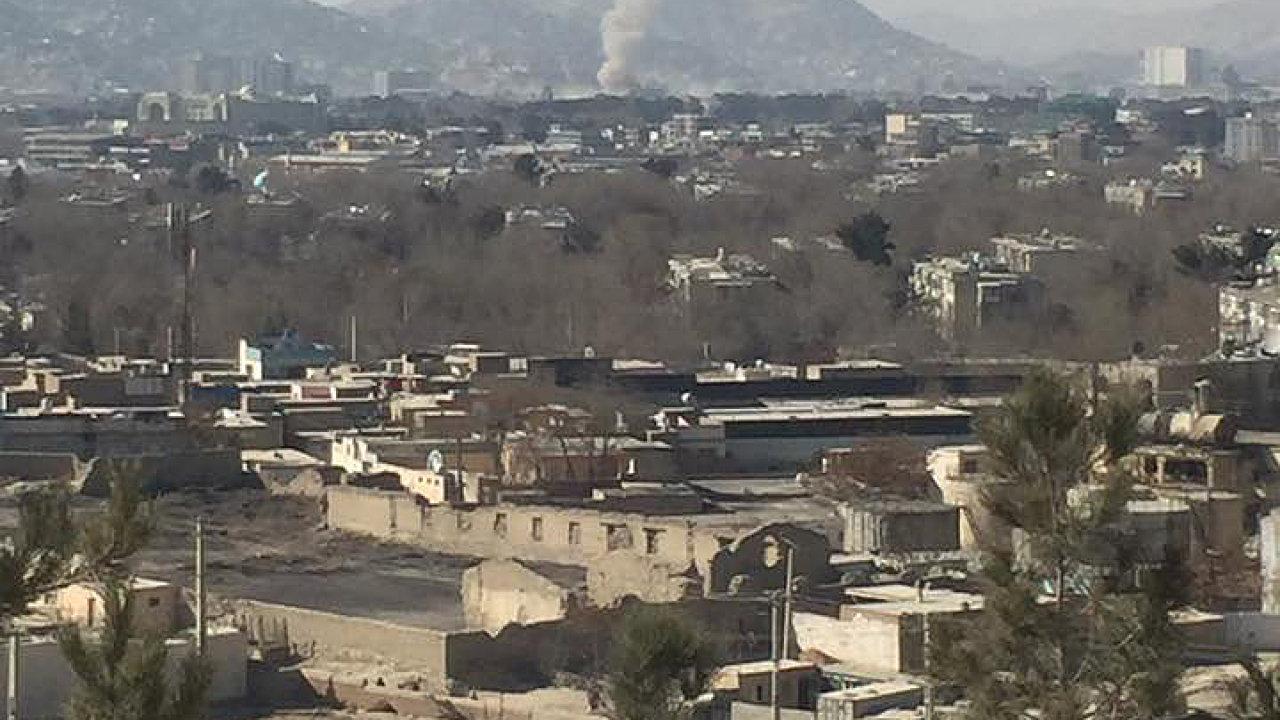Sebevražedný útok v Afghánistánu.