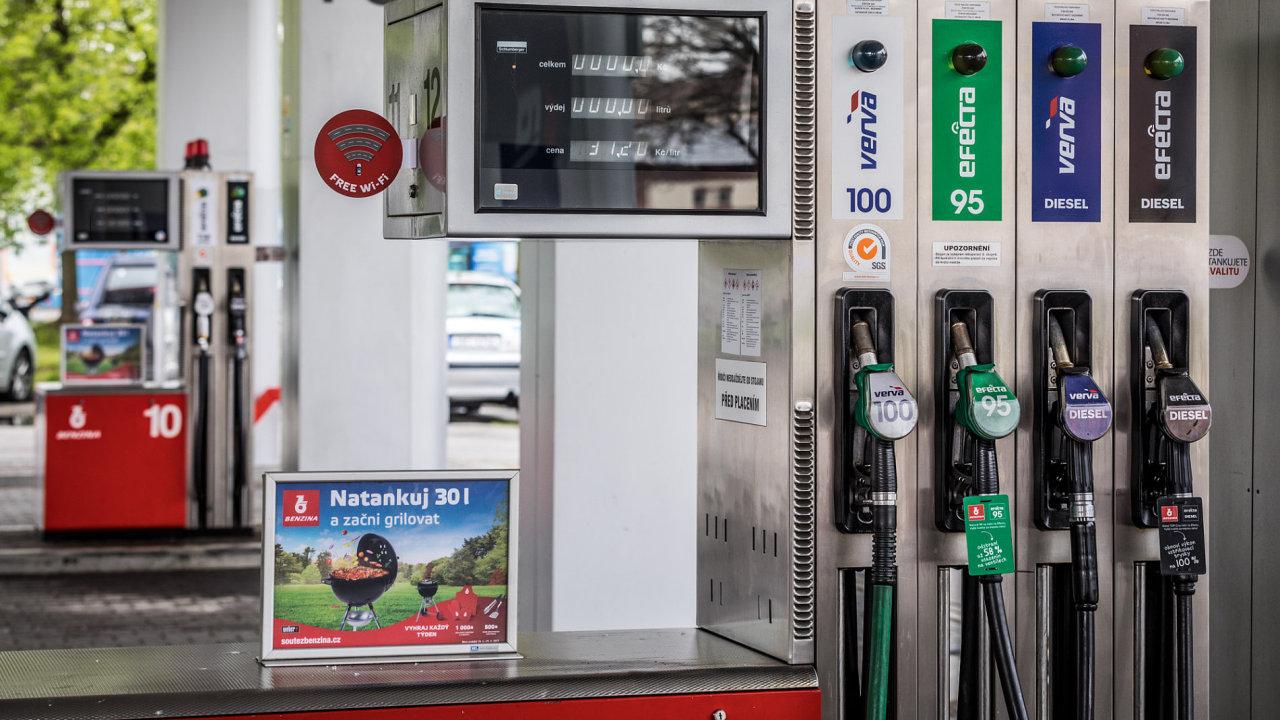 Čerpací stanice Benzina (Unipetrol)