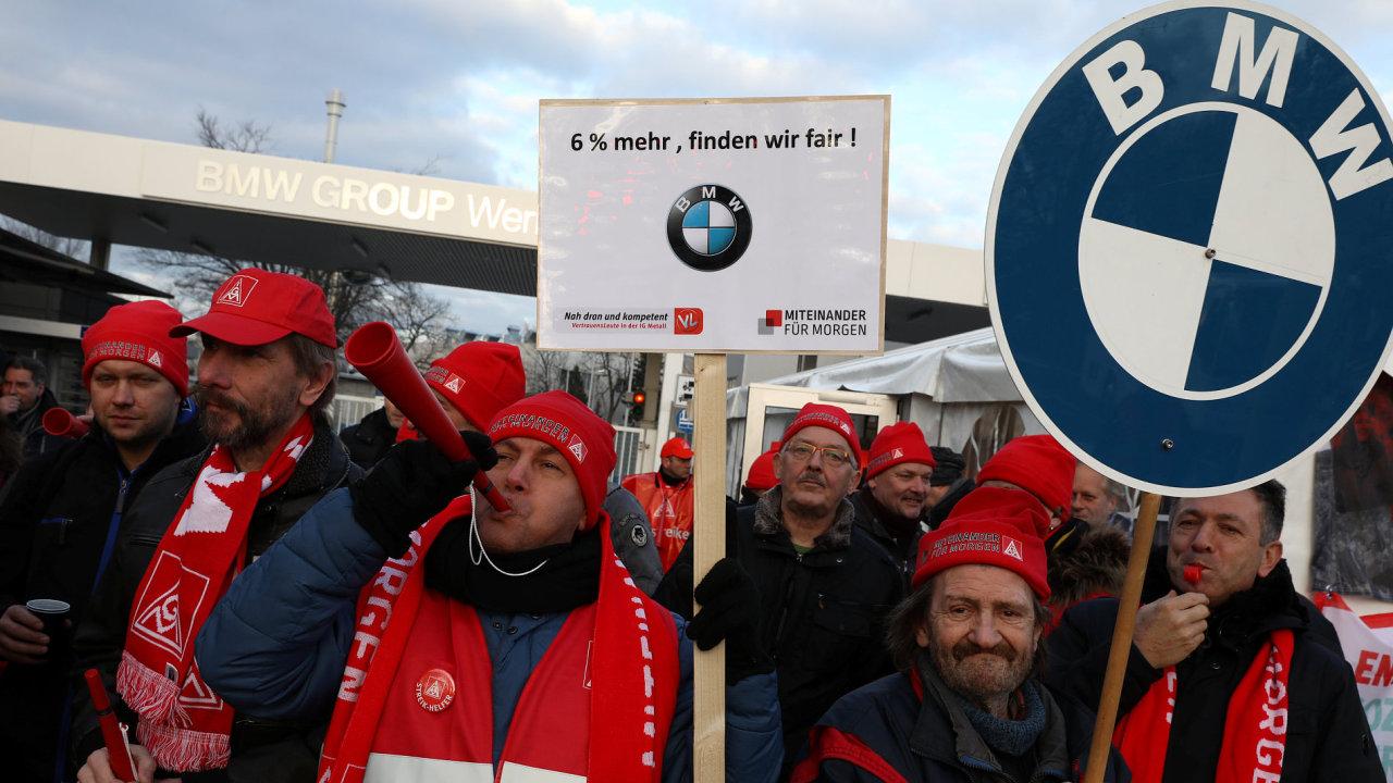 Stávka, Německo, BMW