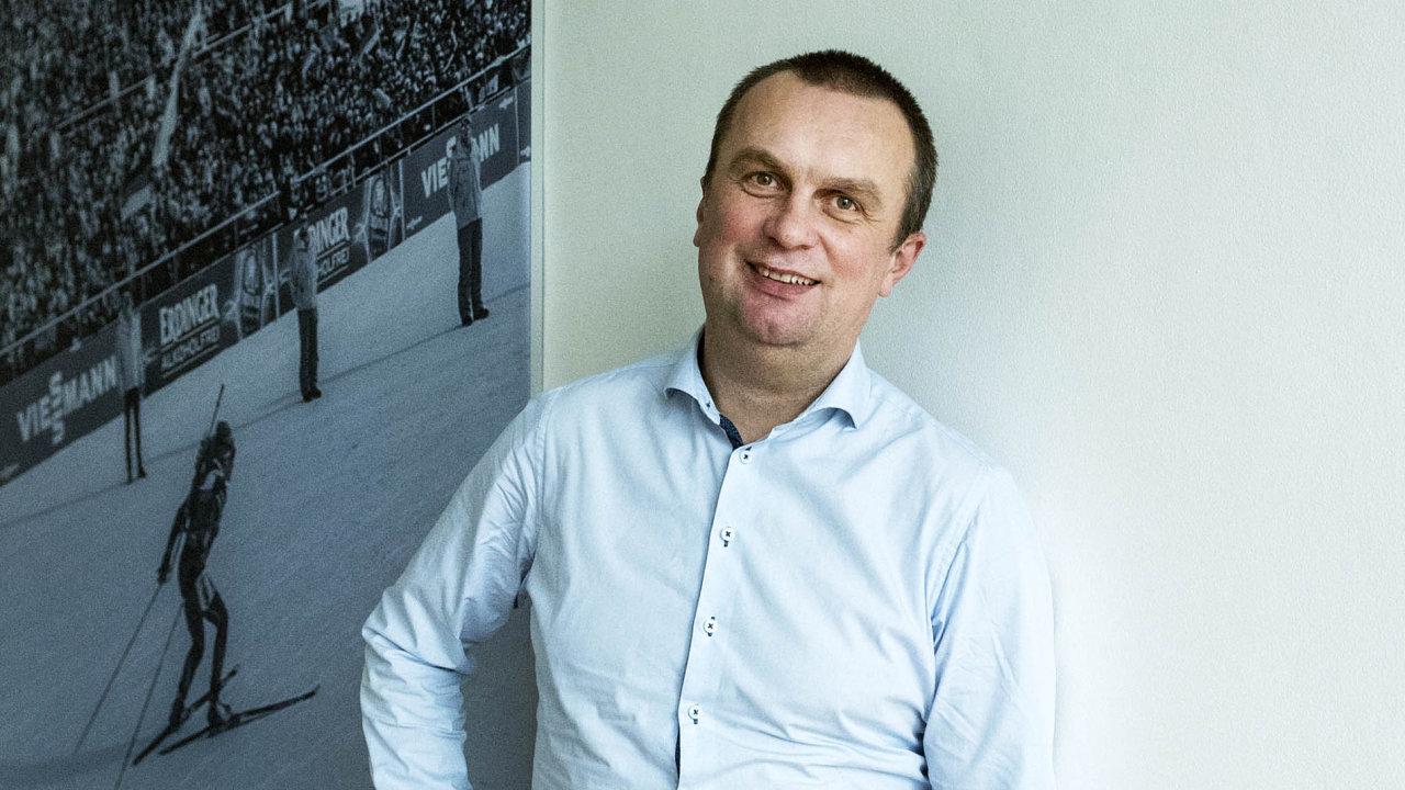 Prezident Českého svazu biatlonu Jiří Hamza.