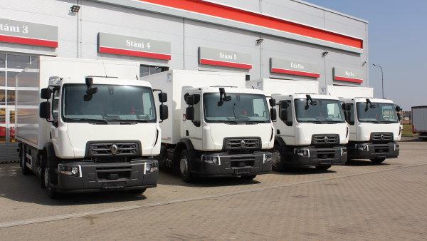 Flotilu společnosti Hrubý autodoprava rozšířila vozidla distribuční řady D WIDE 18 s pohonem na CNG
