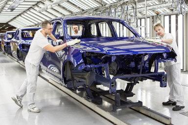 Továrna Volkswagenu - Ilustrační foto.