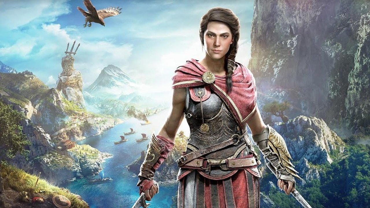 Ukázka ze hry Assassin's Creed Odyssey.