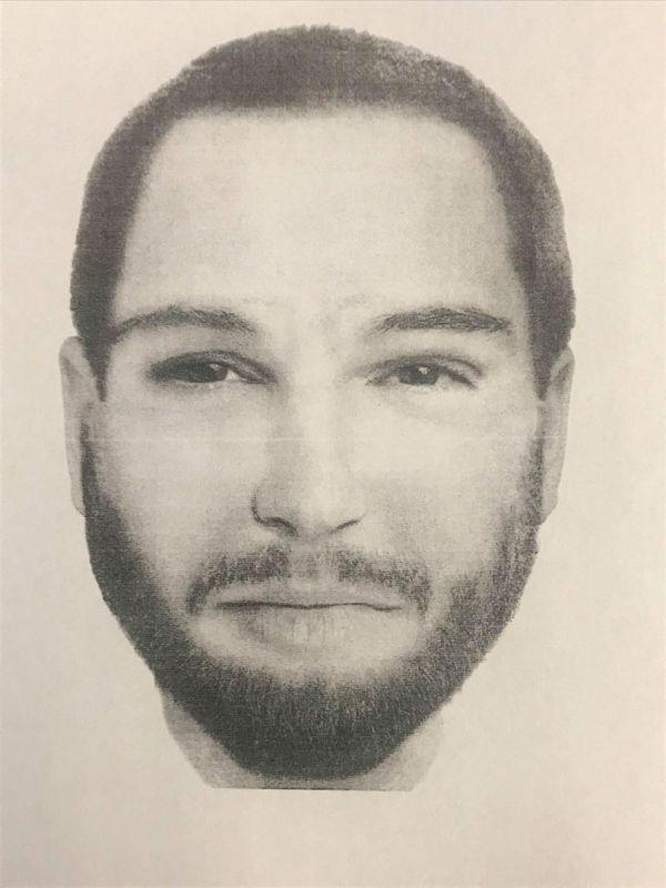 Podobizna muže, kterou zveřejnila slovenská policie.