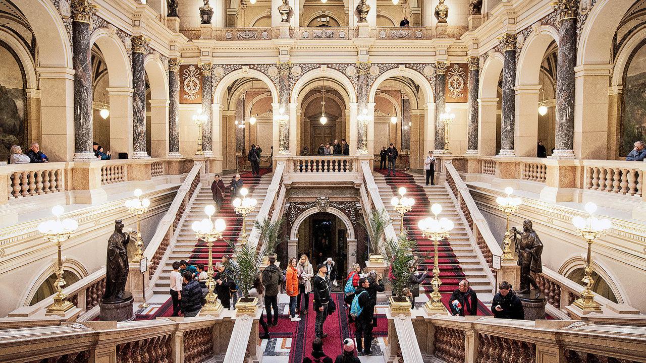 V únoru se návštěvníci do Národního muzea v Praze nepodívají - Ilustrační foto.