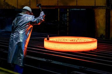 Tata Steel v červnu zahájila restrukturalizační program, který má posílit její evropské aktivity. Žádný ze svých závodů však neplánuje zavřít. - Ilustrační foto.