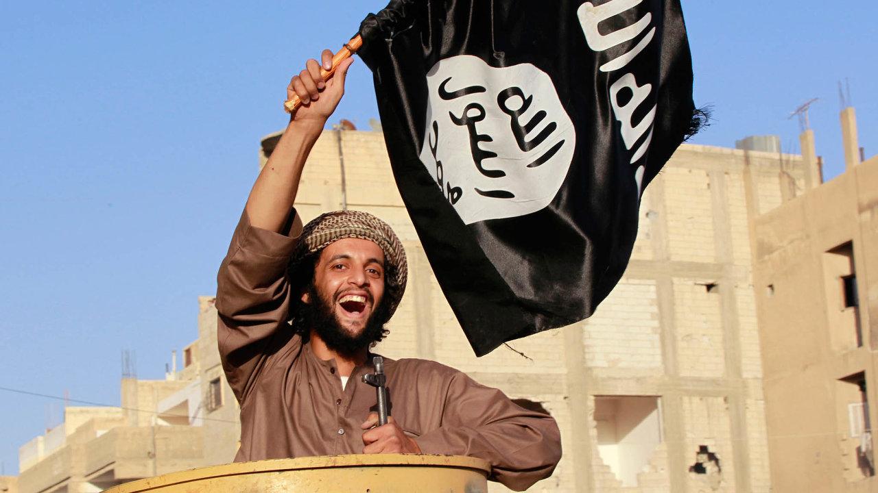 Bojovníci Islámského státu ovládali velkou část Sýrie a Iráku.