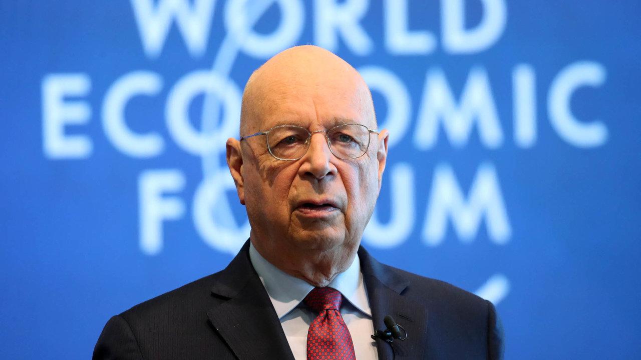 Klaus Schwab, zakladatel a výkonný předseda Světového ekonomického fóra