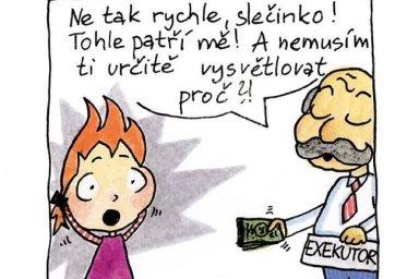 Hádka o komiks pro školáky: Z dětských dlužníků děláte lotry, vyčítá Hůle advokátům.