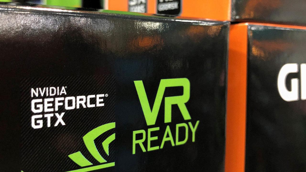 Zeznámějších firem mohli investoři atraktivně zhodnotit své volné peníze například nákupem akcií výrobce grafických karet Nvidia.