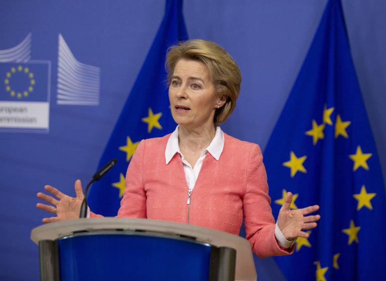Předsedkyně Evropské komise Ursula von der Leyenová představila ambiciózní klimatické cíle Evropské unie.