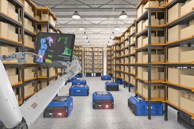 Řízené sklady: roboti vs. lidé