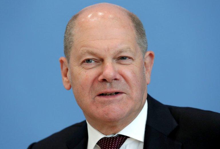 Olaf Scholz, německý ministr financí