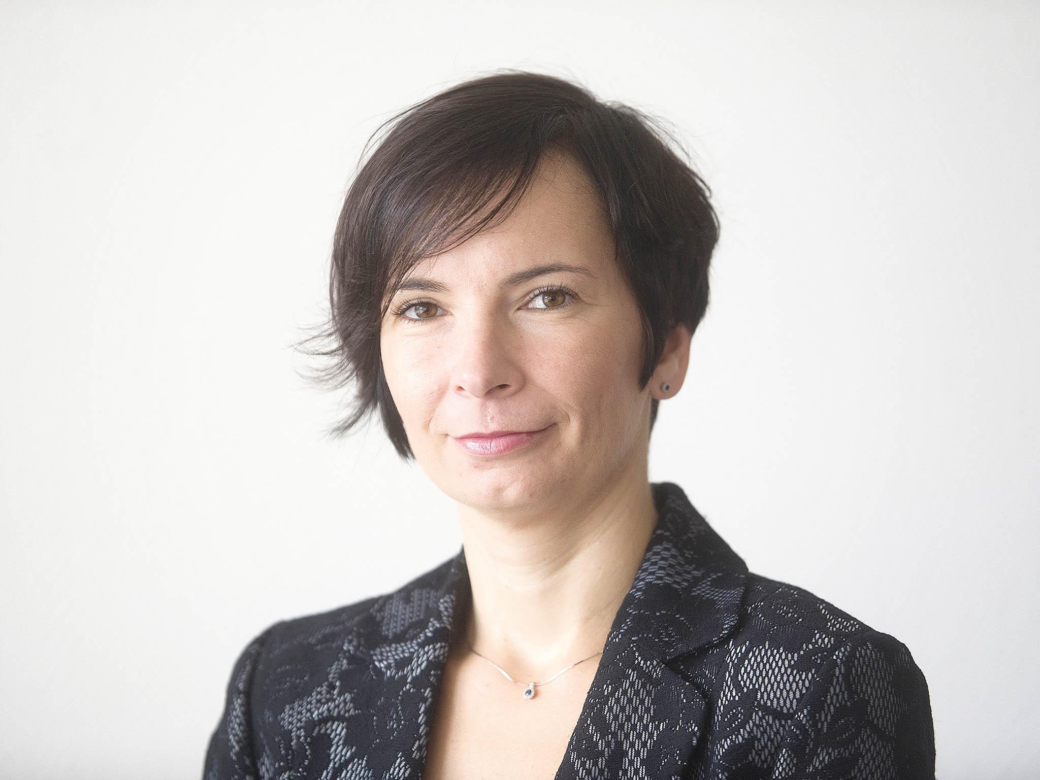 Ředitelka odpovědná zapodpůrné služby společnosti GasNet CZ Erika Vorlová