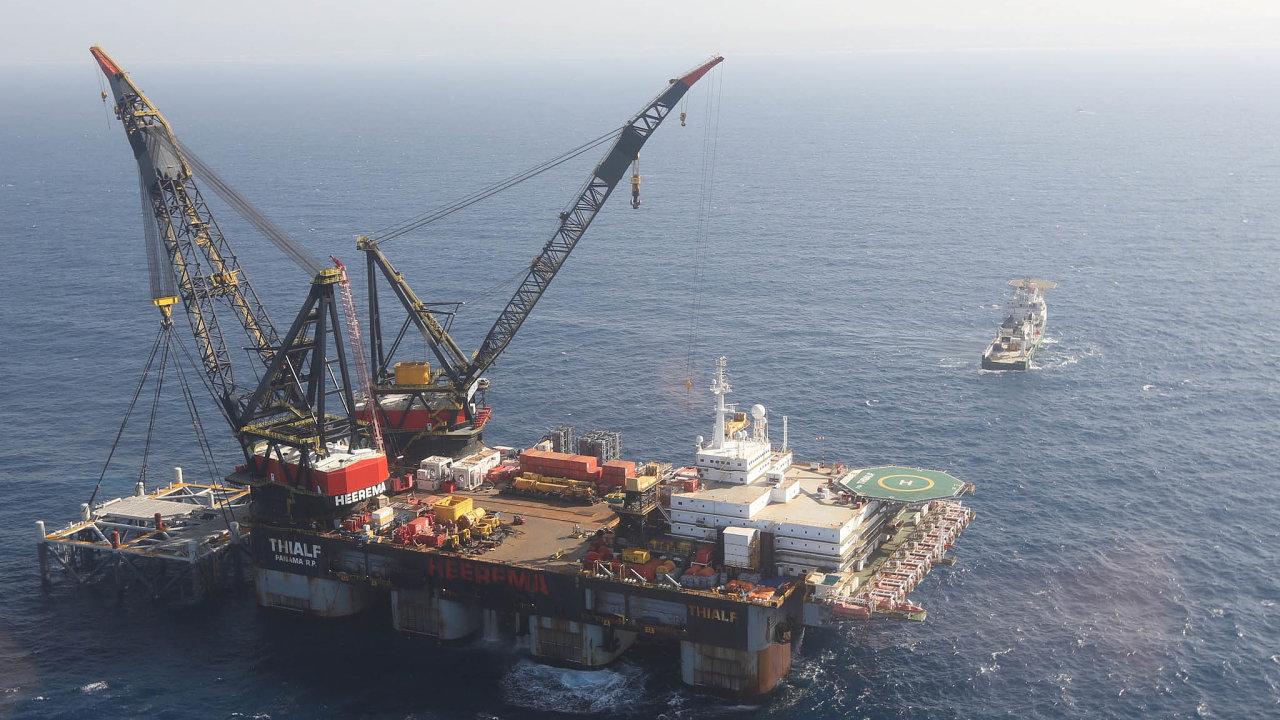 Ohromné zásoby. Naleziště Leviathan skýtá ohromné množství podmořského plynu. Středomořské státy hledají další.