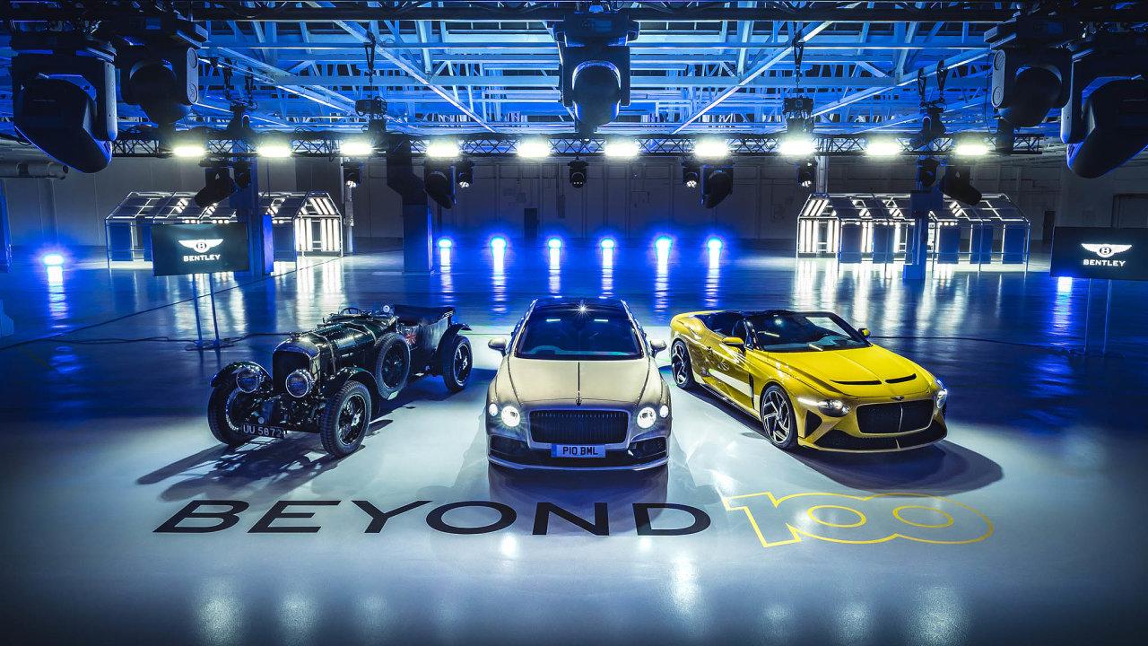 Bentley je součástí německého koncernu Volkswagen.