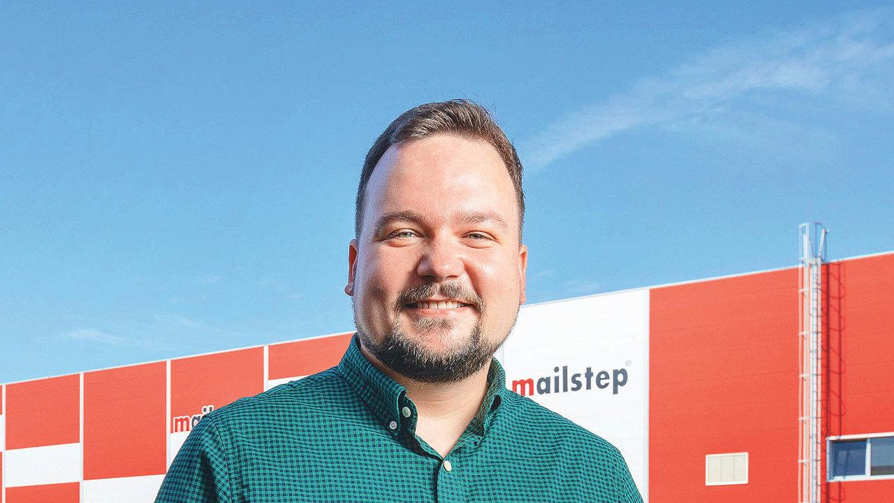 Provozní ředitel Mailstepu Matěj Koval