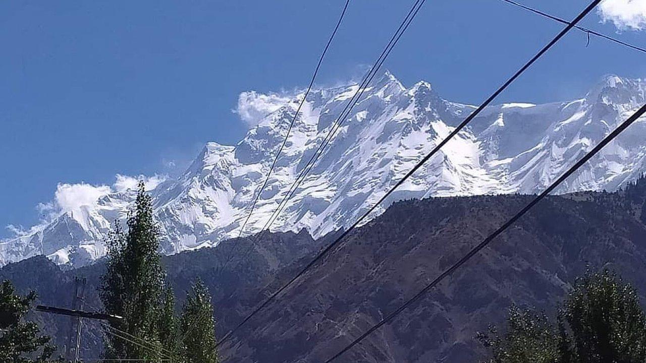 Hora Rakapoši v Pákistánu