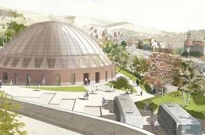 Vizualizace nového nádraží