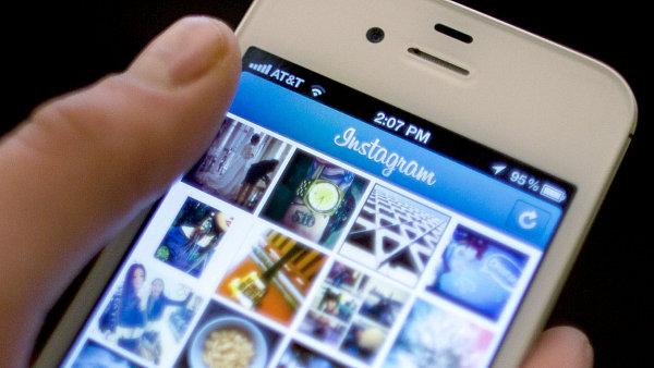 Aplikace Instagram- Ilustrační foto