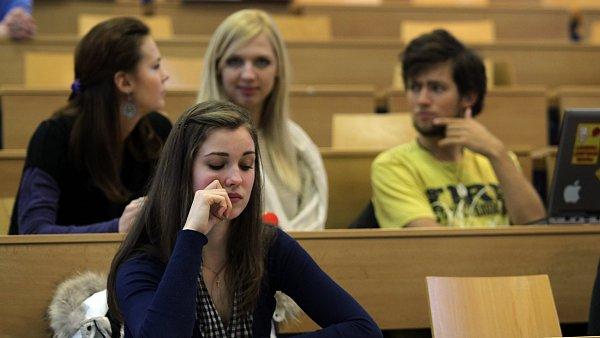 Studenti (Ilustrační snímek)