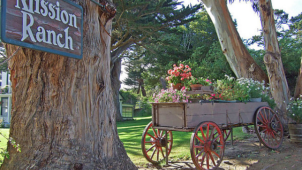 Mission Ranch v kalifornském Carmelu - dílo Clinta Eastwooda