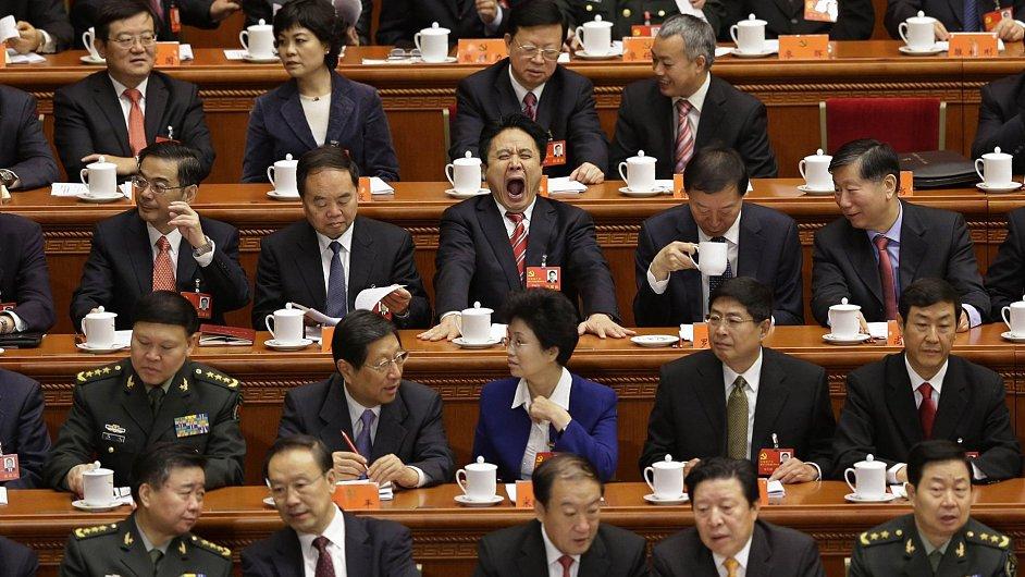Delegáti 18. sjezdu Komunistické strany Číny