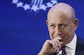 Šéf investiční banky Goldman Sachs Lloyd Blankfein.
