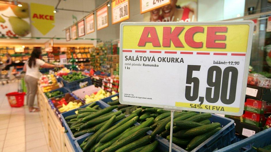 Supermarket. Ilustrační foto