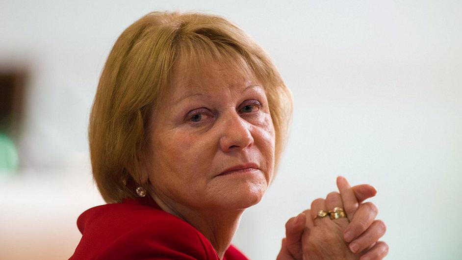 Radní Vítězslava Baborová (KSČM) zodpovědná za kulturu a školství v Jihočeském kraji