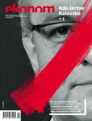 Týdeník Ekonom - č. 1/2013