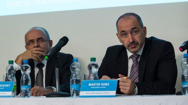 Minist�i Kamil Jankovsk� a Martin Kuba