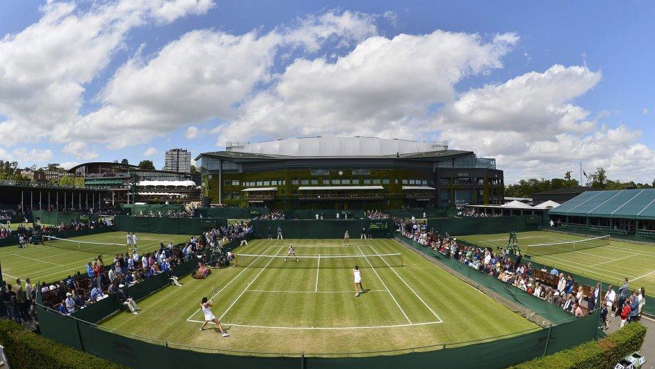 Tenisové kurty v All England Clubu