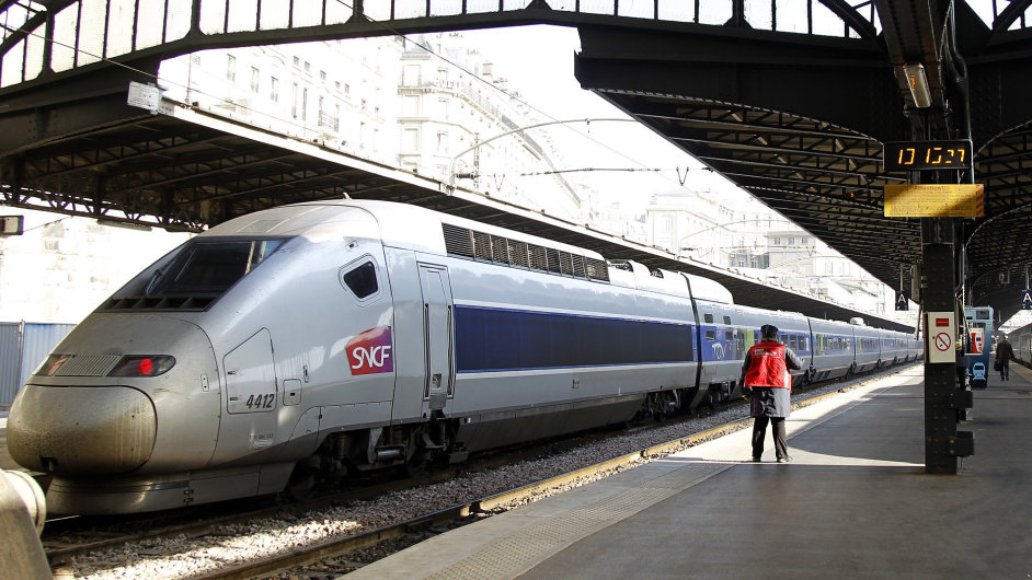 Francouzské státní dráhy SNCF provozují i rychlovlaky TGV