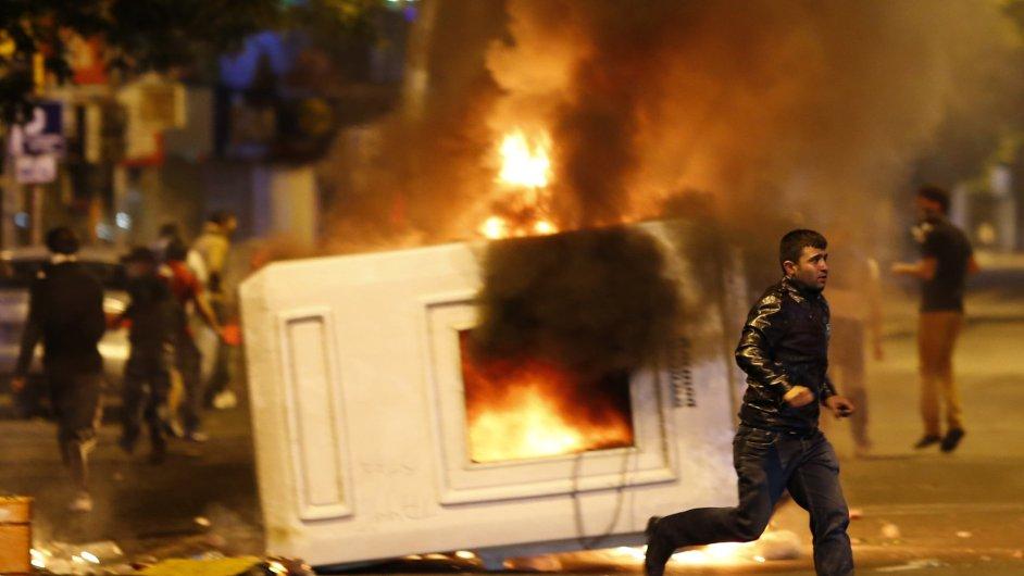 Protivládní protesty v turecké Ankaře