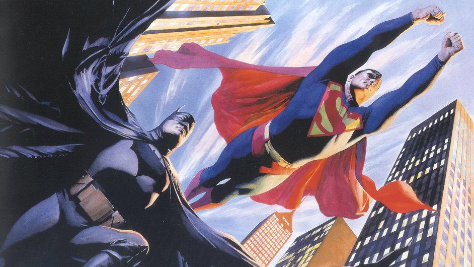 Batman a Superman přiletí ve společném filmu v roce 2015