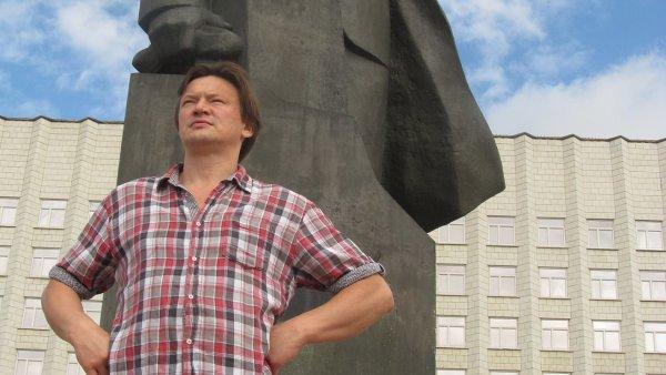 Konstantin Altunin začíná nový život v Paříži. Na snímku ještě v Moskvě.