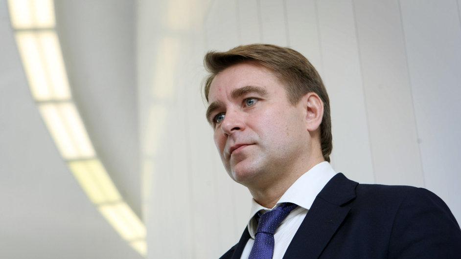Výkonný viceprezident Rusatom Overseas Boris Arsejev na strojírenském veletrhu v Brně.