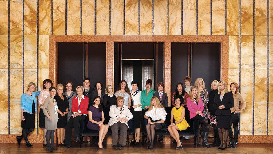 TOP 25 žen 2013