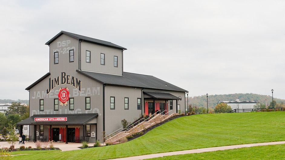 I destilka značky Jim Beam v americkém Clermontu bude pravděpodobně brzy patřit Japoncům.