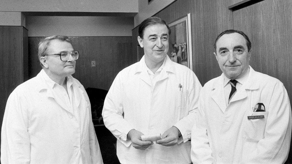 Úspěšný tým z IKEM (1984)
