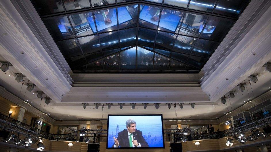 John Kerry na konferenci v Mnichově