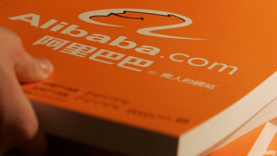 Největší čínský interentový obchod Alibaba, ilustrační foto